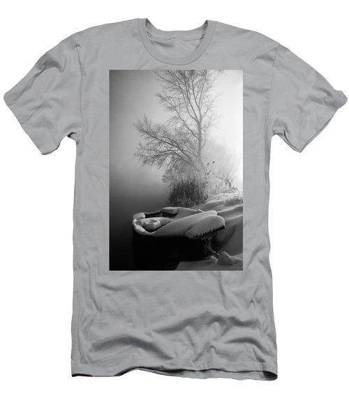 Ice Pier Men's T-Shirt (Athletic Fit)