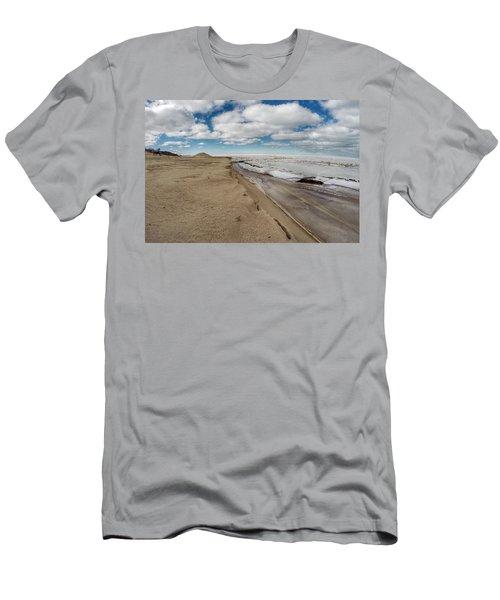 Ice Shelf Men's T-Shirt (Athletic Fit)