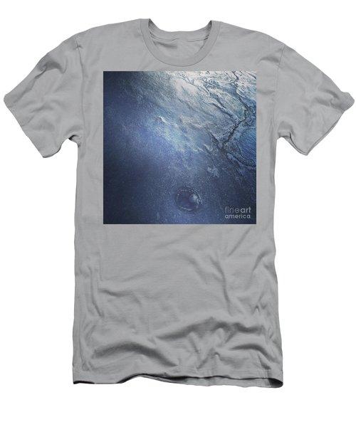 Ice Texture Men's T-Shirt (Athletic Fit)