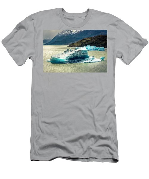 Men's T-Shirt (Slim Fit) featuring the photograph Iceberg by Andrew Matwijec