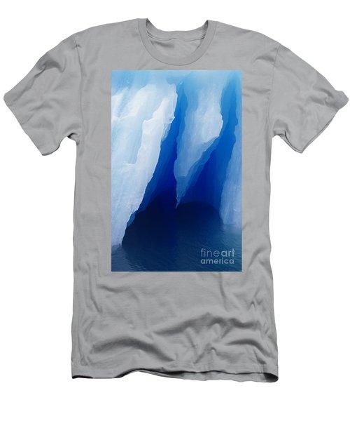 Iceberg Close-up Men's T-Shirt (Athletic Fit)