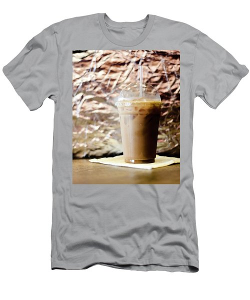 Iced Coffee 2 Men's T-Shirt (Athletic Fit)