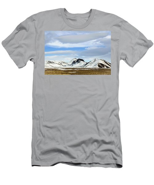 Icelandic Wilderness Men's T-Shirt (Athletic Fit)