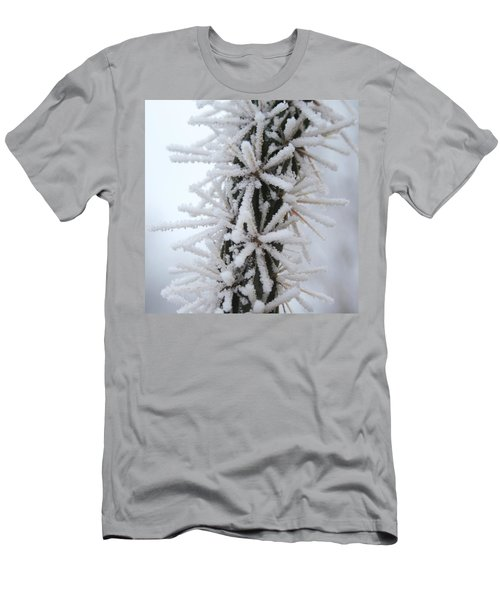 Icy Cactus Men's T-Shirt (Athletic Fit)