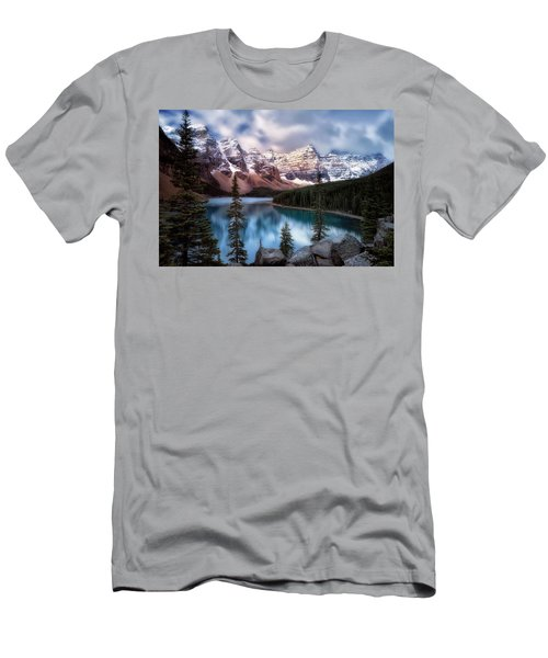 Icy Stillness Men's T-Shirt (Slim Fit) by Nicki Frates