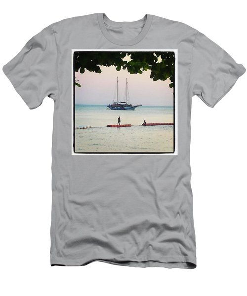 Men's T-Shirt (Athletic Fit) featuring the photograph Idyllic Setting To Idle The Time Away by Mr Photojimsf