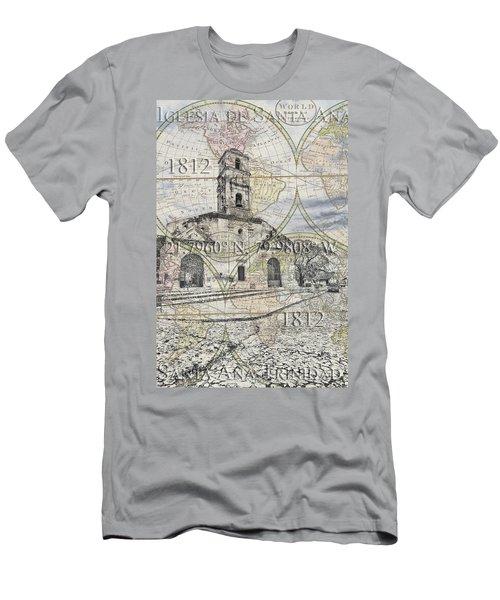 Iglesia De Santa Ana Passport Men's T-Shirt (Athletic Fit)