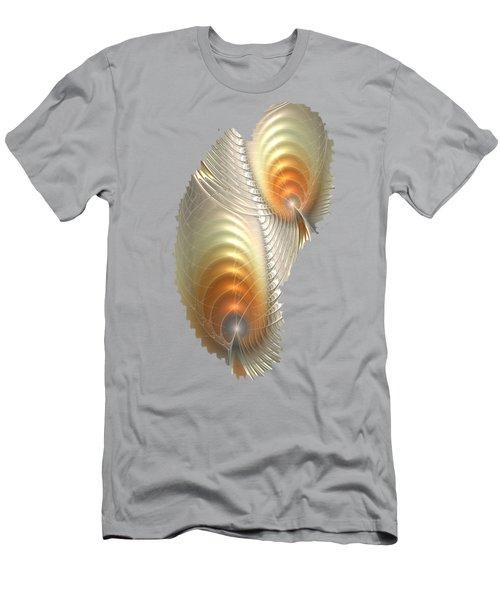 Men's T-Shirt (Athletic Fit) featuring the digital art Ignis Fatuus by Anastasiya Malakhova