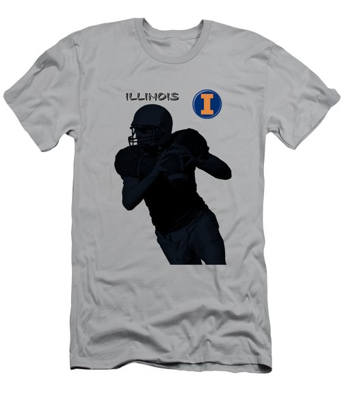 Illinois Football Men's T-Shirt (Athletic Fit)
