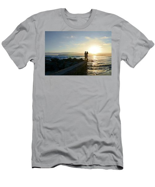 Illuminate  Men's T-Shirt (Slim Fit) by Sharon Soberon