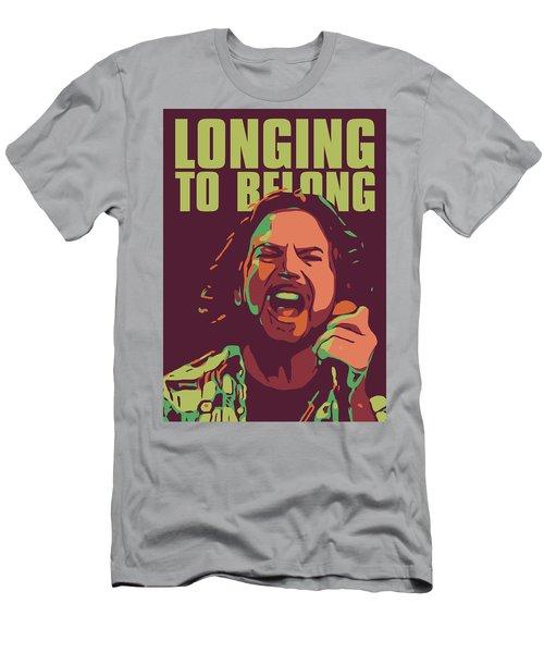 Eddie Vedder Men's T-Shirt (Slim Fit) by Greatom London
