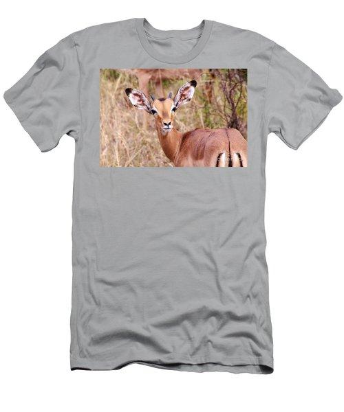 Impala Men's T-Shirt (Slim Fit) by Juergen Klust