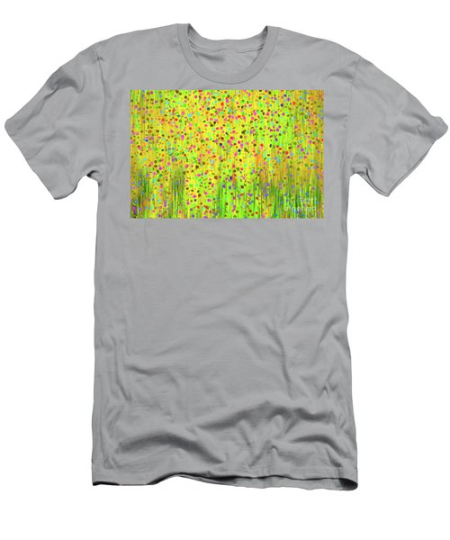 Impressionist Meadow Men's T-Shirt (Athletic Fit)