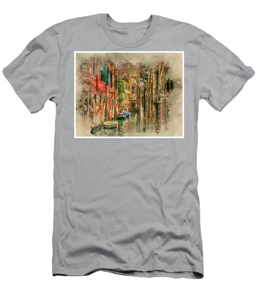 Impressions Of Venice Men's T-Shirt (Athletic Fit)