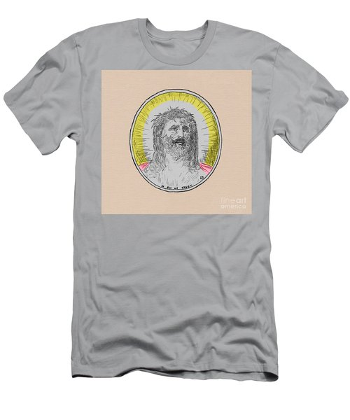 In Him We Trust Colorized Men's T-Shirt (Athletic Fit)