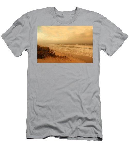 In My Dreams The Ocean Sings - Jersey Shore Men's T-Shirt (Athletic Fit)