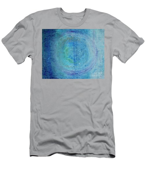 Men's T-Shirt (Athletic Fit) featuring the painting In The Beginning, Cosmic by Kim Nelson