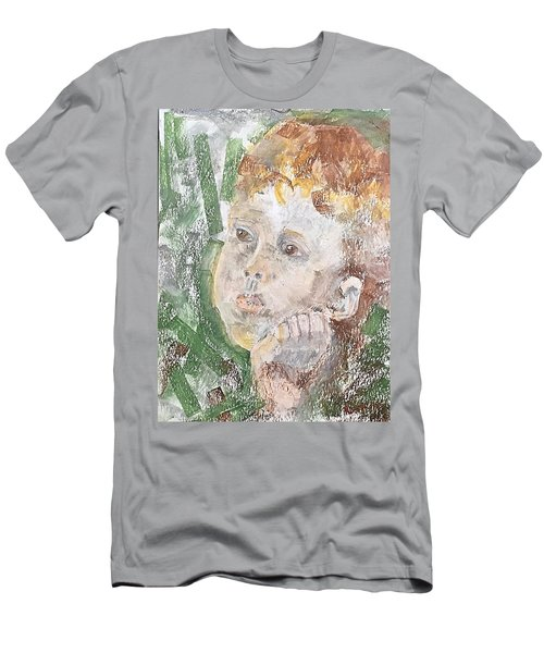 In The Eyes Of A Child Men's T-Shirt (Athletic Fit)