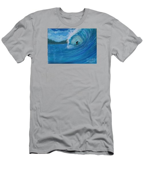 In The Green Room Men's T-Shirt (Slim Fit) by Myrna Walsh