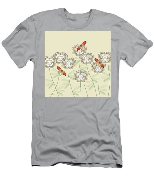 Incendia Flower Garden Men's T-Shirt (Athletic Fit)