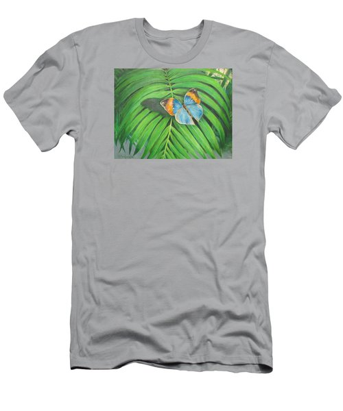 Indian Head Butterfly Men's T-Shirt (Athletic Fit)