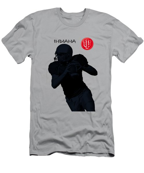 Indiana Football Men's T-Shirt (Athletic Fit)