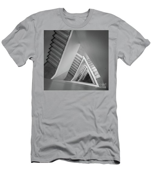 Infinite Stairs Men's T-Shirt (Athletic Fit)