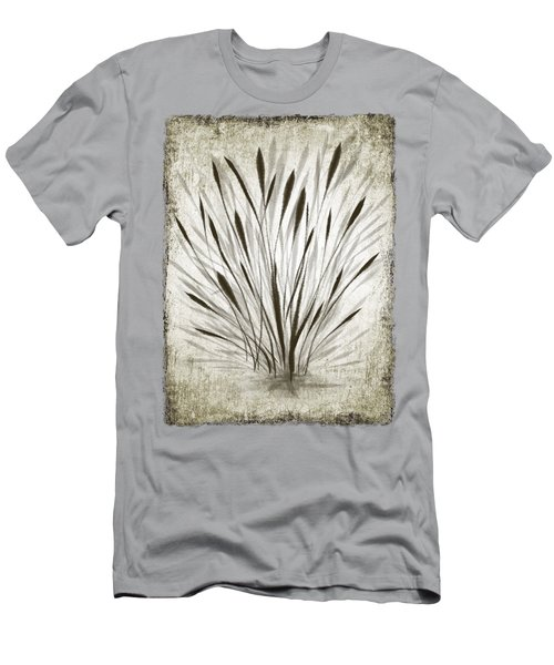 Ink Grass Men's T-Shirt (Athletic Fit)