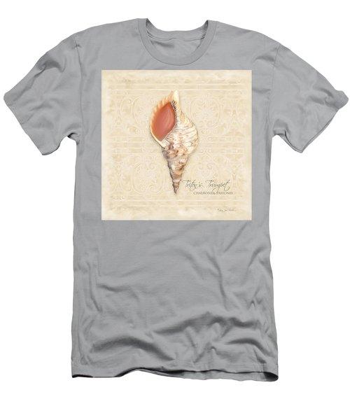 Inspired Coast 2 - Triton's Trumpet  Chaeronea Tritonis Shell Men's T-Shirt (Athletic Fit)