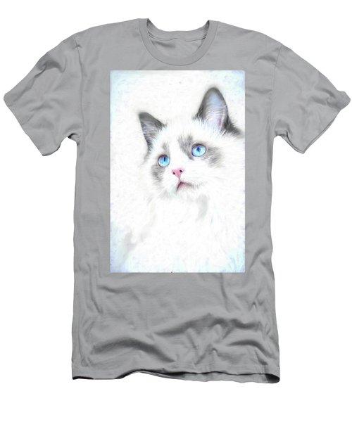 Intense Gaze Men's T-Shirt (Athletic Fit)