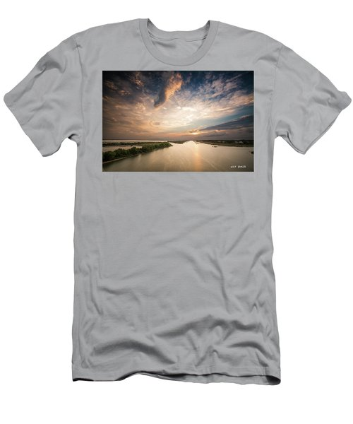 Intercoastal Sky Men's T-Shirt (Athletic Fit)
