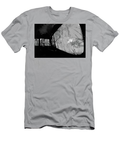 Interior In Gray Men's T-Shirt (Athletic Fit)