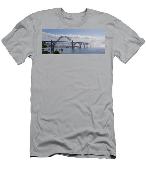 Into The Fog At Newport Men's T-Shirt (Athletic Fit)