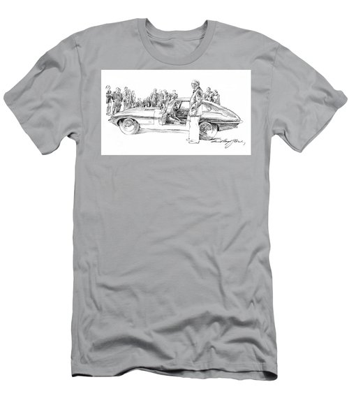 Introducing The 1962 Jag E-type Coupe Men's T-Shirt (Athletic Fit)