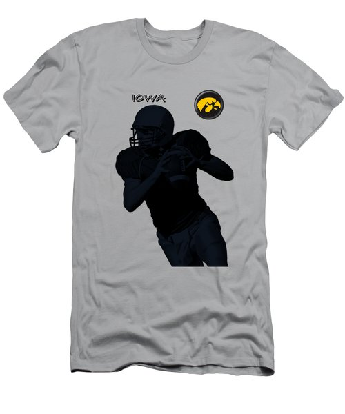 Iowa Football  Men's T-Shirt (Athletic Fit)
