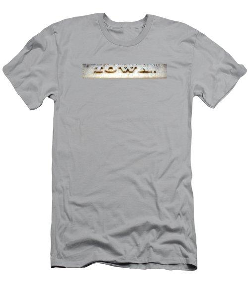 Iowa. Men's T-Shirt (Athletic Fit)