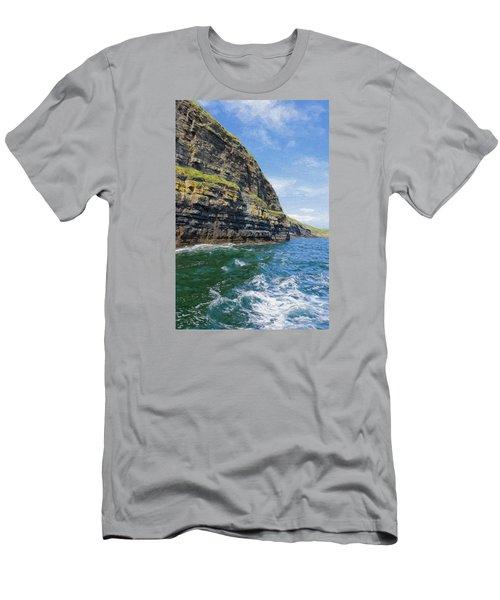 Ireland Cliffs Men's T-Shirt (Athletic Fit)