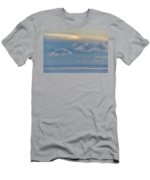 Iridescence Horizon Men's T-Shirt (Athletic Fit)