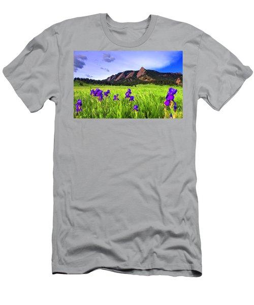 Iris And Flatirons Men's T-Shirt (Athletic Fit)