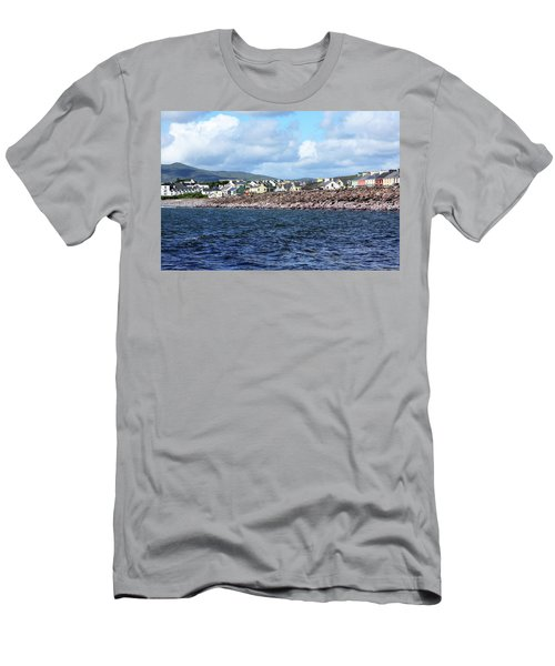 Irish Seaside Village - Co Kerry  Men's T-Shirt (Athletic Fit)
