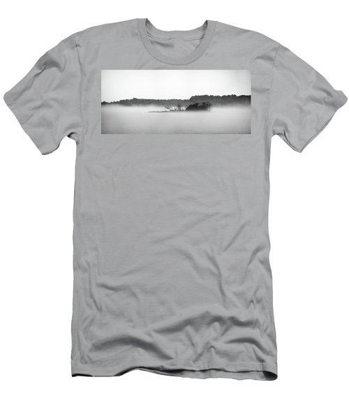 Island In The Fog Men's T-Shirt (Athletic Fit)