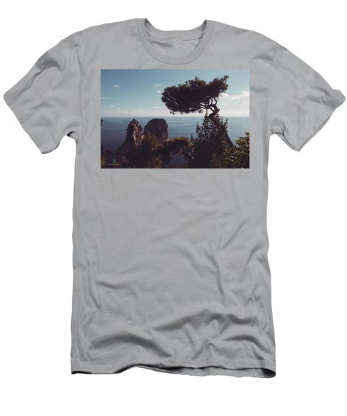 Island Of Capri - Italy Men's T-Shirt (Athletic Fit)