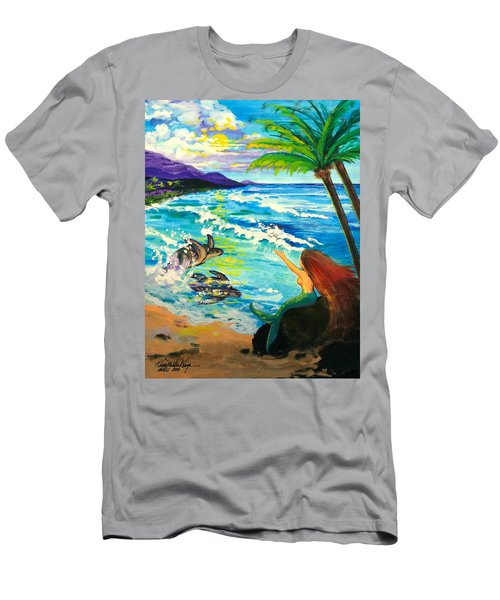 Island Sisters Men's T-Shirt (Athletic Fit)