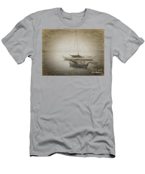 Island Sketches V Men's T-Shirt (Athletic Fit)