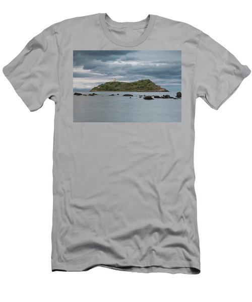 Small Island On The Sea Men's T-Shirt (Athletic Fit)