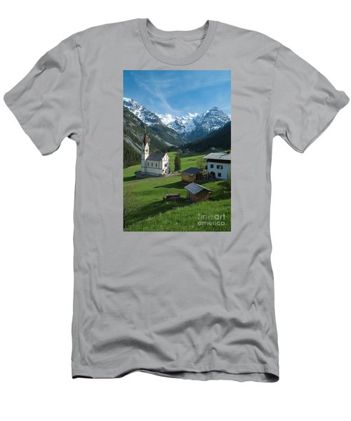 Italian Alps Hidden Treasure Men's T-Shirt (Athletic Fit)