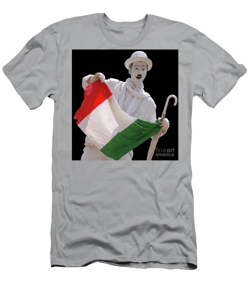 Italian Charlie Chaplin Men's T-Shirt (Athletic Fit)