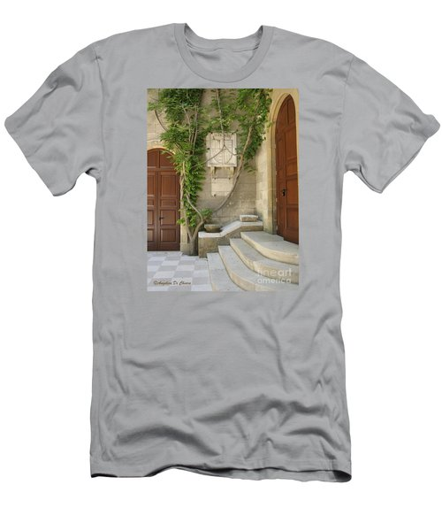 Italian Courtyard- Brindisi Men's T-Shirt (Athletic Fit)