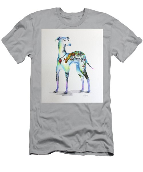 Italian Greyhound Tattoo Dog Men's T-Shirt (Athletic Fit)