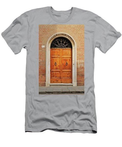 Italy - Door Fifteen Men's T-Shirt (Athletic Fit)